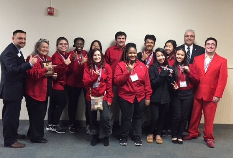 ACADEMIC DECATHLON PLACES THIRD AT REGIONAL MEET