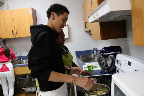 COOKING CLUB HOSTS NEXT MEETING APRIL 12