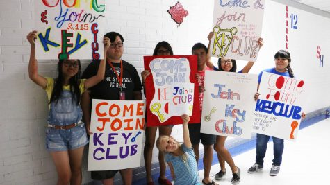 SERVE YOUR COMMUNITY, JOIN KEY CLUB