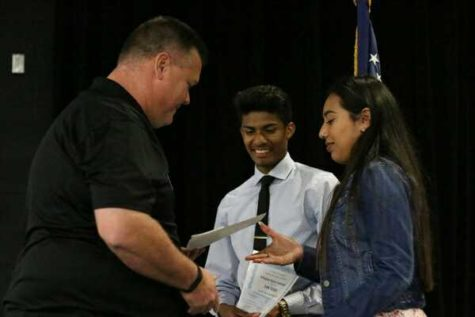 TWO SOCCER ATHLETES ACCEPT ATHLETIC SCHOLARSHIPS
