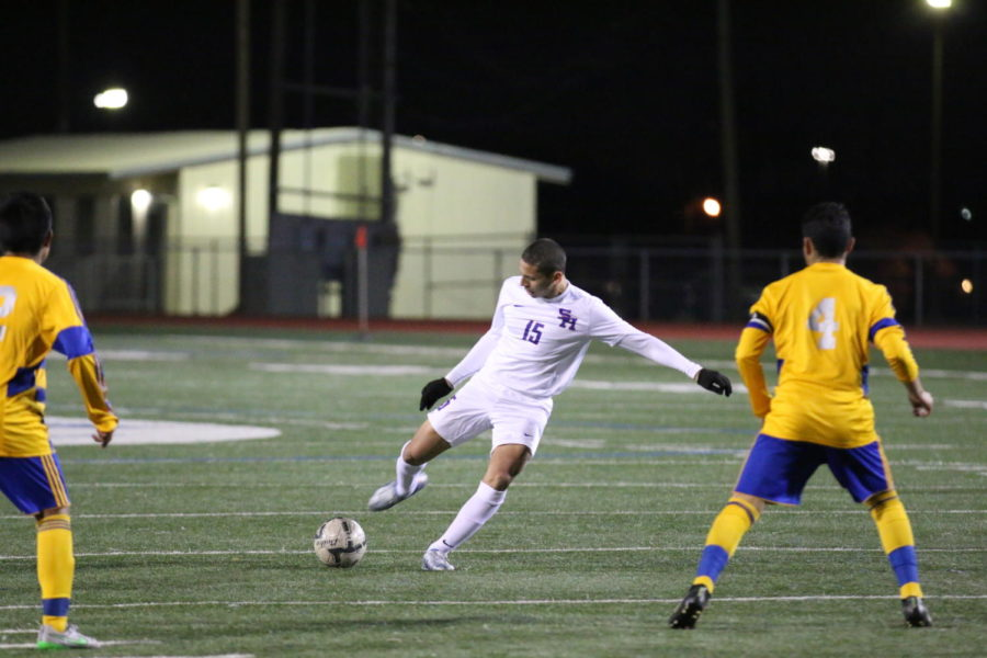 BOYS SOCCER TO PLAY GARLAND FRIDAY