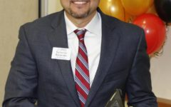 BENAVIDES RECEIVES AISD SECONDARY PRINCIPAL OF THE YEAR AWARD